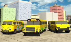 School Bus Driving screenshot 1/4