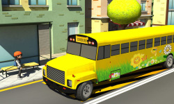 School Bus Driving screenshot 2/4