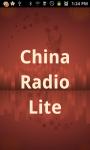 China Radio  Lite screenshot 1/3