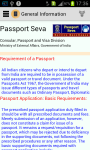 Passport Seva App screenshot 1/6