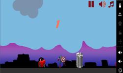 Running Captain America screenshot 1/3