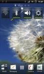 Flying Dandelion Flower Live Wallpaper screenshot 2/3