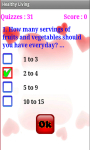 Healthy Living Quiz screenshot 3/4