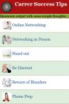 Carrer Success Tips screenshot 2/3