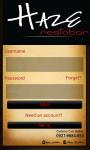 Haze Restobar App screenshot 3/6