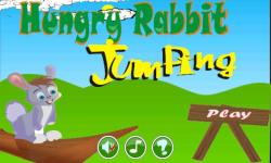 Hungry Rabbit Jumping screenshot 1/4