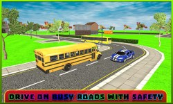 School Bus Driver Simulator 3D screenshot 2/3