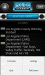 Police Scanner Radio PRO total screenshot 4/6