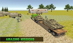 Army Transport Truck Driver 3D screenshot 1/4