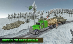 Army Transport Truck Driver 3D screenshot 2/4
