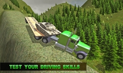Army Transport Truck Driver 3D screenshot 4/4