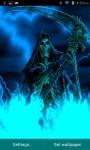 Lightning Skull Grim Reaper Live Wallpaper screenshot 1/3
