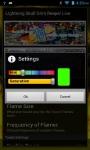 Lightning Skull Grim Reaper Live Wallpaper screenshot 2/3
