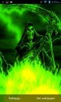 Lightning Skull Grim Reaper Live Wallpaper screenshot 3/3
