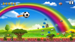 WorldCup Flying Ball screenshot 2/5
