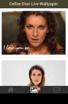Celine Dion Live Wallpaper screenshot 3/5
