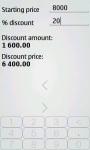 Discount Calculator Luxe screenshot 1/4