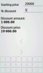 Discount Calculator Luxe screenshot 2/4