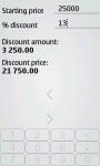 Discount Calculator Luxe screenshot 3/4