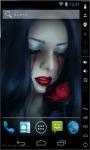 Bloody Tears Live Wallpaper screenshot 1/2