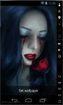 Bloody Tears Live Wallpaper screenshot 2/2