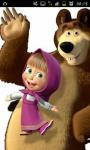 Funny wallpaper Masha and the bear screenshot 1/6