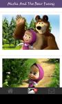 Funny wallpaper Masha and the bear screenshot 3/6
