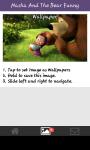 Funny wallpaper Masha and the bear screenshot 5/6