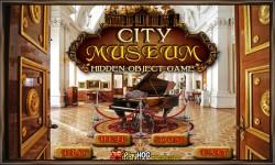 Free Hidden Object Games - City Museum screenshot 1/4