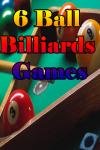 6 Ball Billiards Games screenshot 1/3