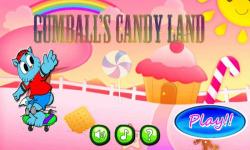 Gumballs Skater Game Candy Land  screenshot 1/2