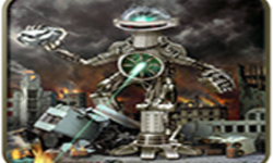 Robot Game City Attack 3D screenshot 1/6
