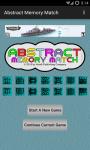 Abstract Memory Match screenshot 1/6