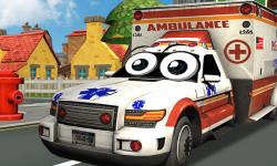 Crazy Ambulance City Racer 3D screenshot 1/2