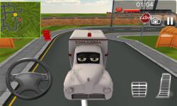 Crazy Ambulance City Racer 3D screenshot 2/2