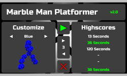 Marble Man Platformer screenshot 1/4