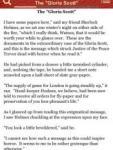 Memoirs of Sherlock Holmes by Arthur Conan Doyle; ebook screenshot 1/1