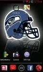 Seattle Seahawks NFL Live Wallpaper screenshot 2/3