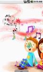 Cartoon Music Live Wallpaper screenshot 2/4