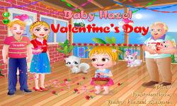 Baby Gril Valentines Day screenshot 1/6