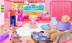 Baby Gril Valentines Day screenshot 5/6