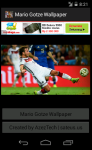 Mario Gotze Germany 2014 World Cup Wallpaper screenshot 2/6