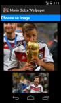 Mario Gotze Germany 2014 World Cup Wallpaper screenshot 3/6