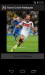 Mario Gotze Germany 2014 World Cup Wallpaper screenshot 4/6