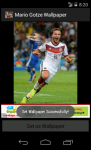 Mario Gotze Germany 2014 World Cup Wallpaper screenshot 5/6