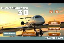3D FLIGHT SIMULATOR screenshot 1/5