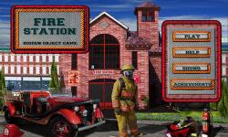 Free Hidden Object Game - Fire Station screenshot 1/4