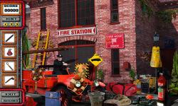 Free Hidden Object Game - Fire Station screenshot 3/4