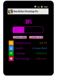 Show Battery Percentage Pro screenshot 1/4