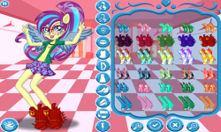 Rainbow Dash School Spirit Style screenshot 3/4